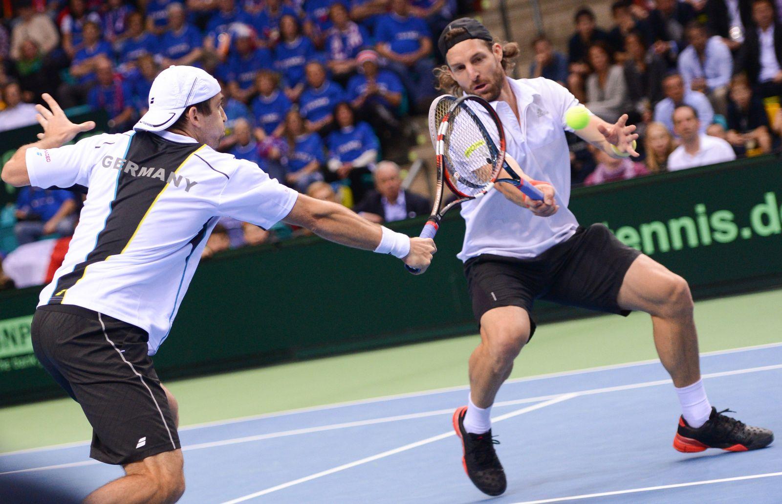 Davis Cup - Deutschland - Frankreich