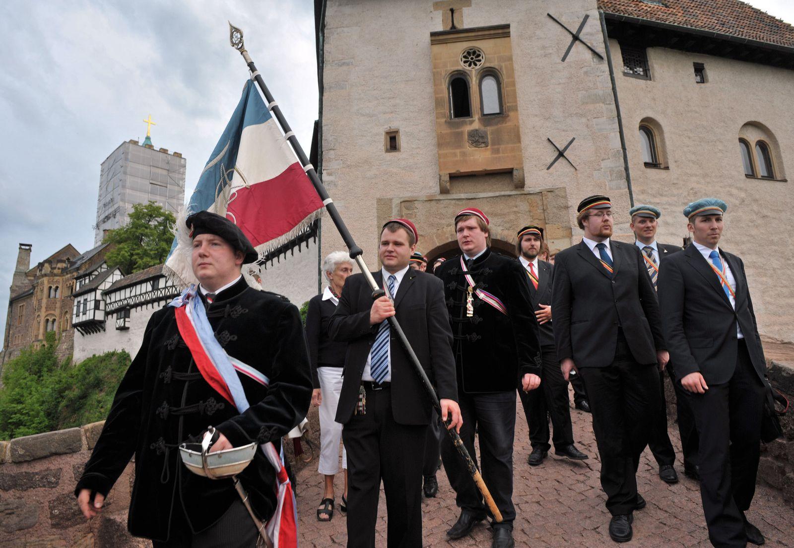 Burschenschaftstreffen Eisenach