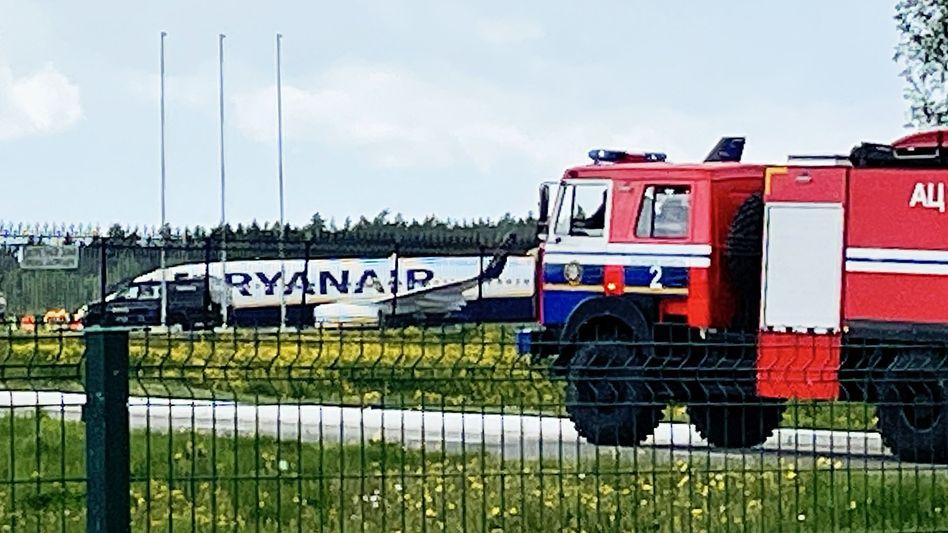 Ryanair-Flug FR 4978 nach der erzwungenen Landung in Minsk