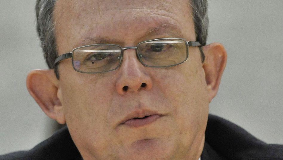 Uno-Sonderberichterstatter Frank La Rue: Alarmiert und besorgt