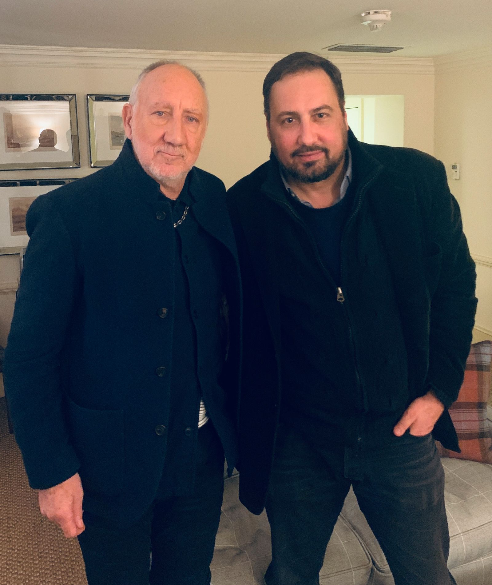 Pete Townshend mit Alex Gernandt