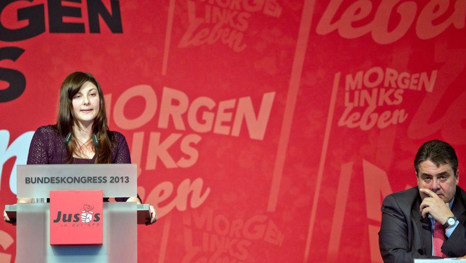 Votum gegen Große Koalition: Jusos lassen Gabriel abblitzen