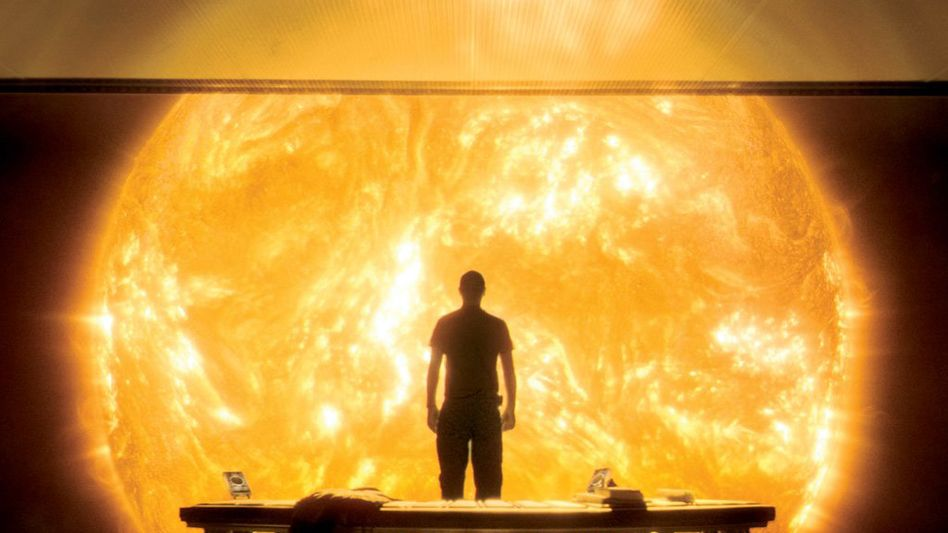 """A vision of the future from the film """"Sunshine."""""""