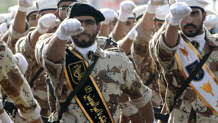 Photo Gallery: Targeting the Revolutionary Guards