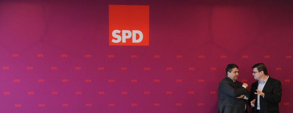 """SPD-Chef Gabriel, Parteilinker Stegner: """"Abstriche stehen nicht zur Debatte"""""""