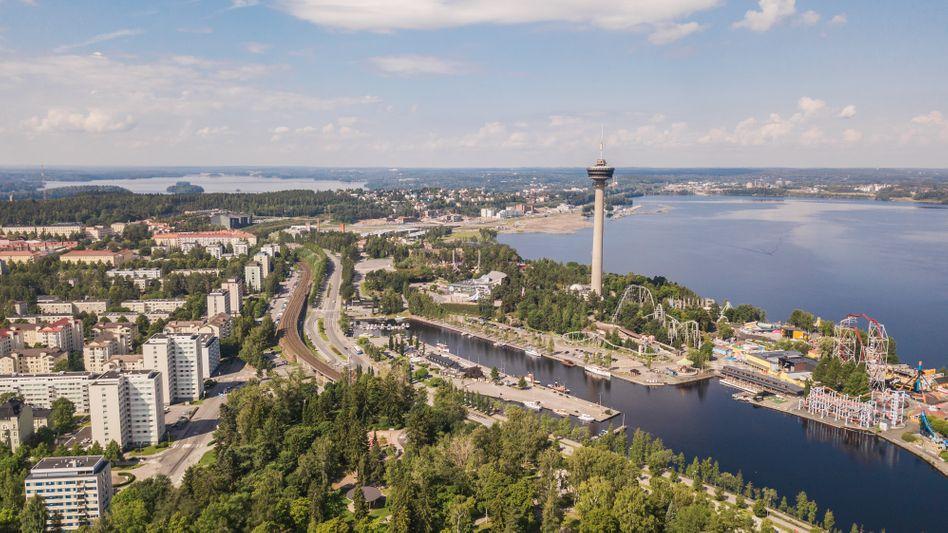 Die Stadt Tampere in Finnland führt mit dem schwedischen Umeå das aktuelle EEA-Ranking der Luftqualität an