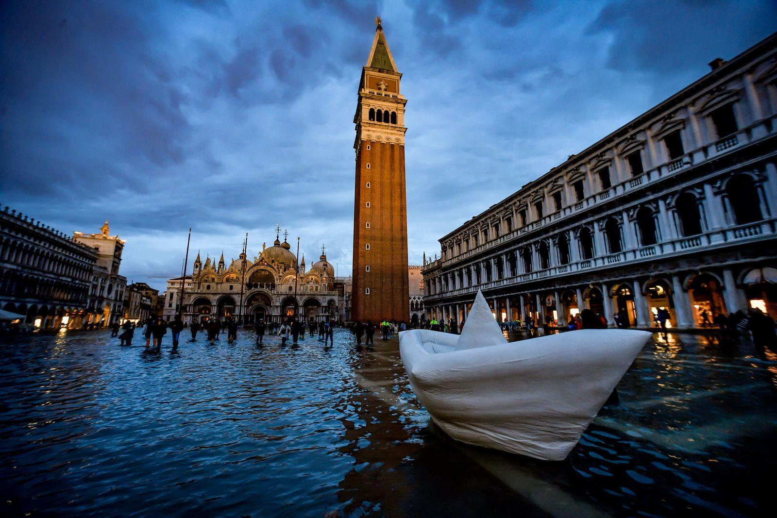 Überschwemmungen in Venedig 2019