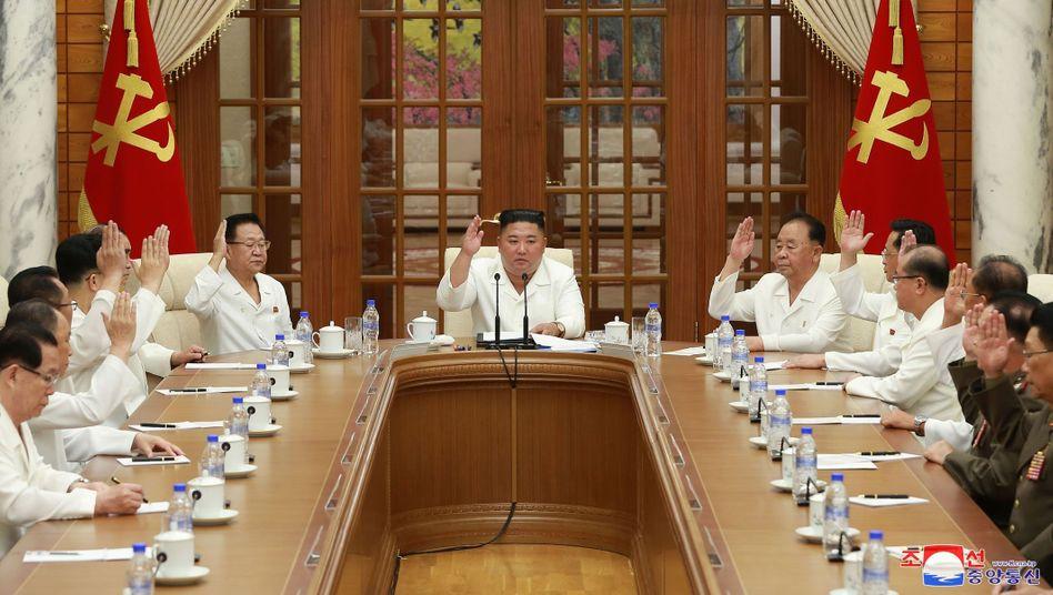 Immer wieder zieht sich Nordkoreas Diktator Kim Jong Un teils über Wochen aus der Öffentlichkeit zurück