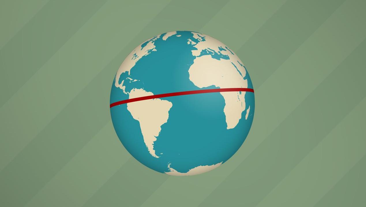 Rätsel der Woche: Ein Dreieck so groß wie die Erde - DER SPIEGEL