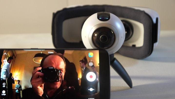 Gear 360: Samsungs neue Rundumkamera