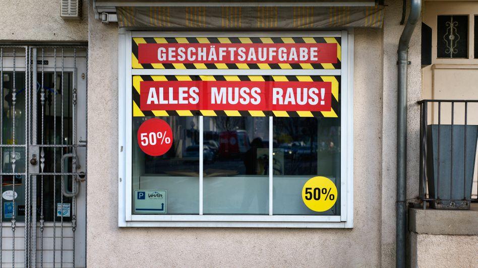 Geschäftsaufgabe in Stuttgart: Die Corona-Insolvenzen könnten sich 2021 verdoppeln