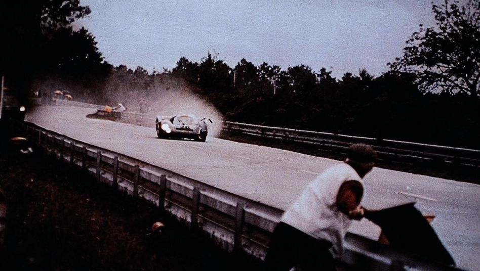 """Filmszene aus """"Le Mans"""""""