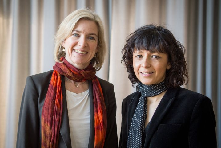Jennifer Doudna und Emmanuelle Charpentier