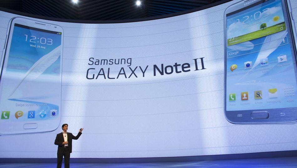 Samsung-Pressekonferenz auf der Ifa: Blogger als Standpersonal?
