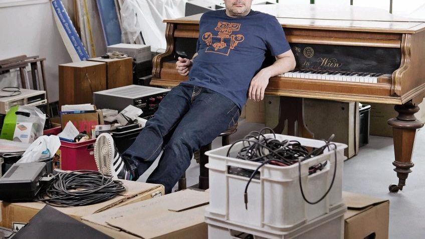 DJ Westbam in seinem Berliner Studio