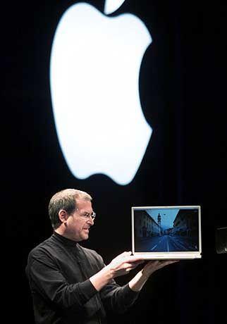 Apple-CEO Steve Jobs: Glänzende Hardware, matte Bilanz