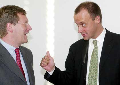 CDU-Politiker Wulff und Merz: Langjährige Freundschaft