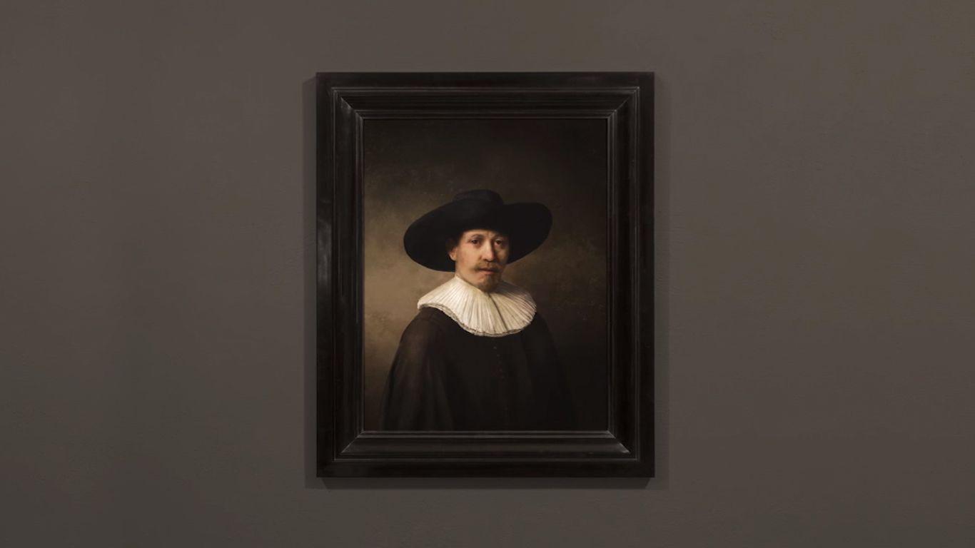 EINMALIGE VERWENDUNG SCREENSHOT NUR ALS ZITAT/ CCC/ 2017/ The Next Rembrandt