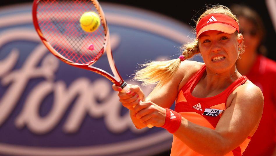 Tennis-Profi Kerber: Gut vorbereitet für French Open