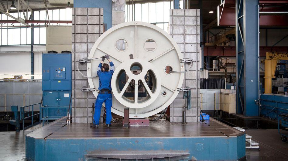 Montage beim Maschinenbauer Schuler in Göppingen (2017): 30-Stunden-Woche für alle?