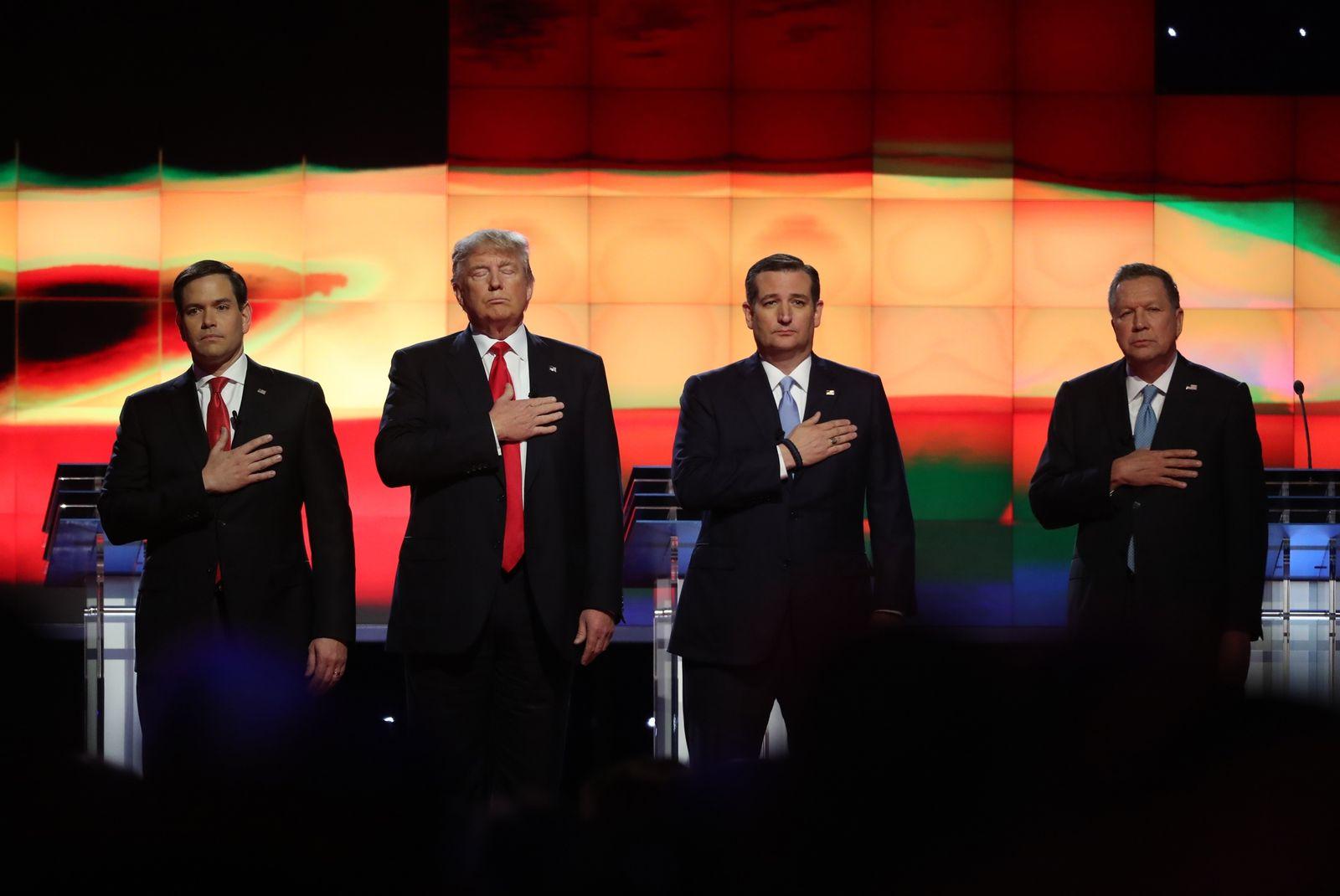 Rubio / Trump / Cruz