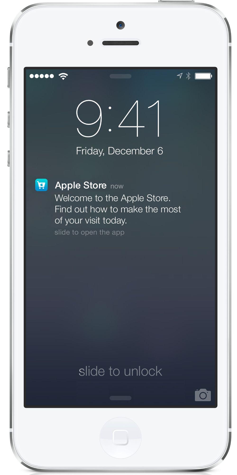 Apple-In-Store Location iBeacon