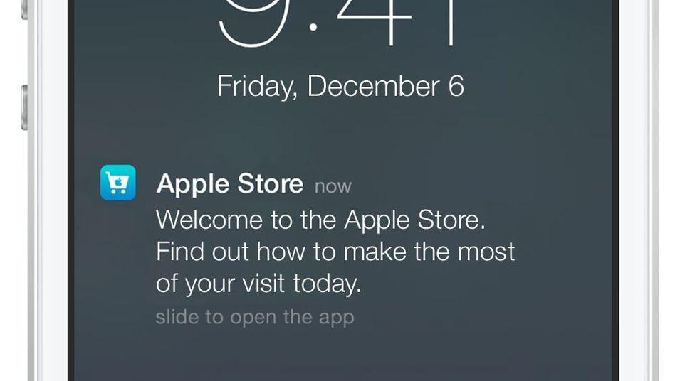 Apples iBeacon: Schneller finden, was man kaufen soll