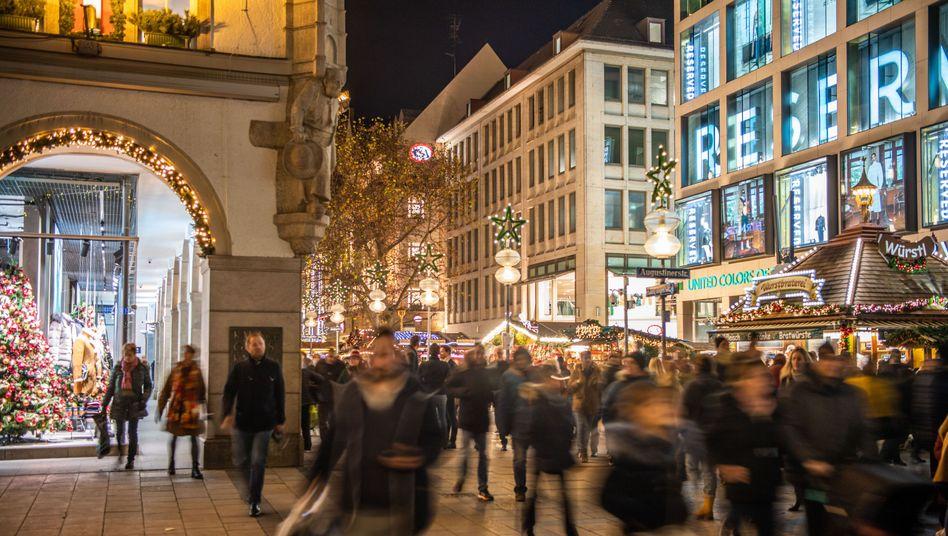 Weihnachtsgeschäft in München (2019): Lage in den Einkaufszonen soll entspannt werden