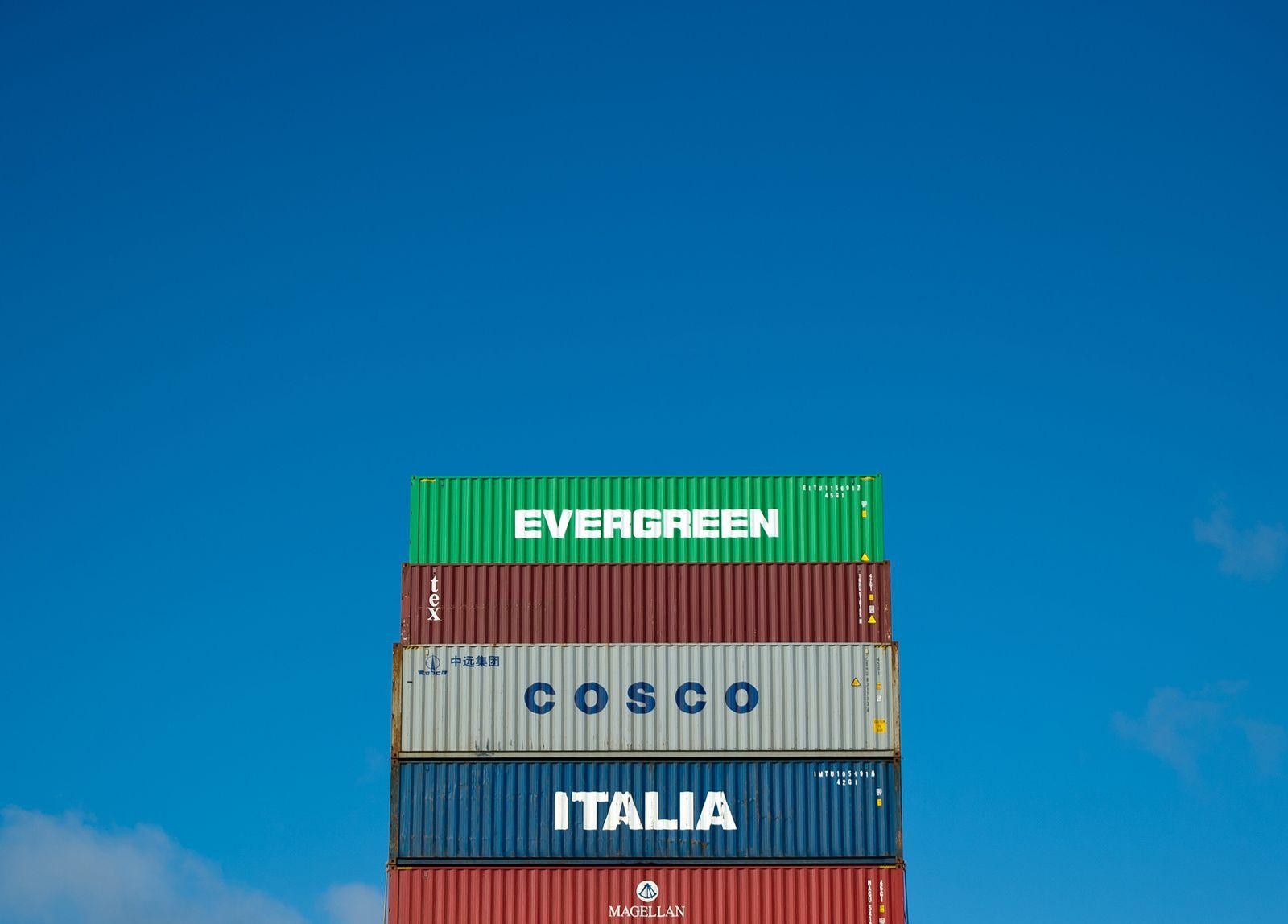 Hafen Hamburg Container