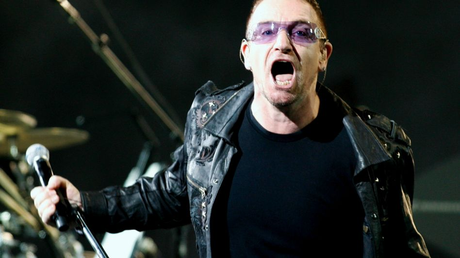 """U2-Sänger Bono beim """"360 Grad""""-Konzert in polnischen Chorzow: Rekord für die Ewigkeit?"""