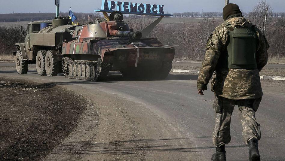 """Kriegsgerät des ukrainischen Militärs: """"Von Abzug keine Rede"""""""