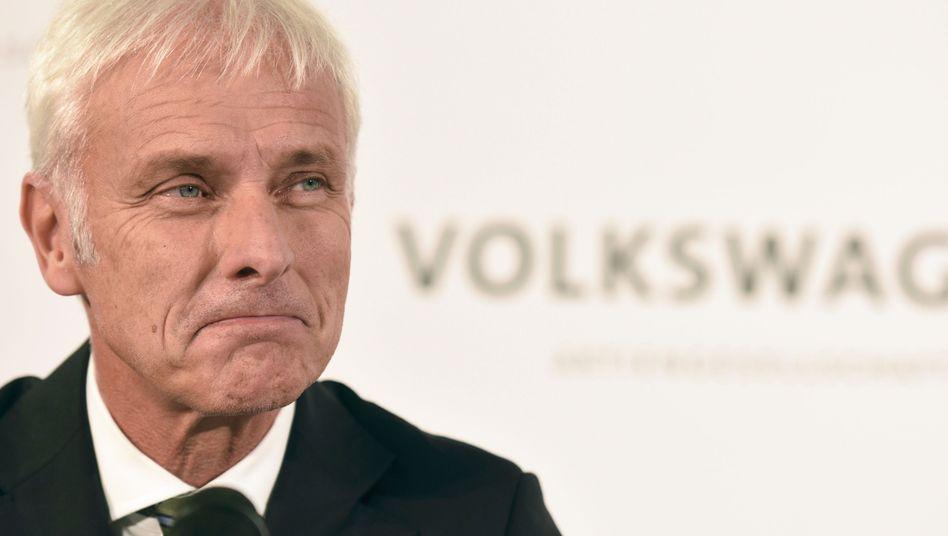 """VW-Chef Müller: """"Alleingänge sind nicht meine Sache"""""""
