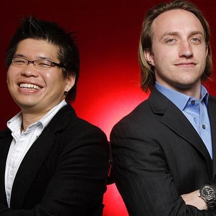 Die YouTube-Gründer Steven Chen und Chad Hurley: 1,65 Milliarden Dollar in Aktien für einen Blitzerfolg