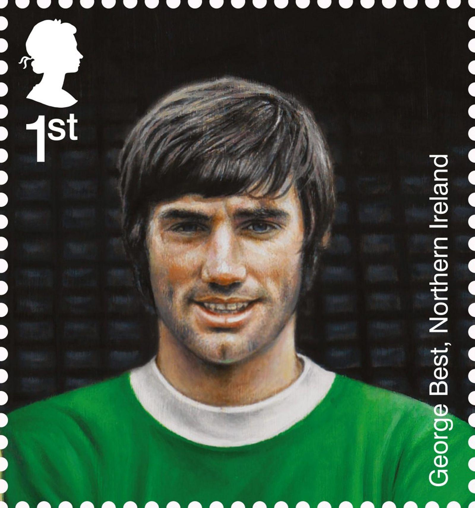 England / Fußball / Briefmarken