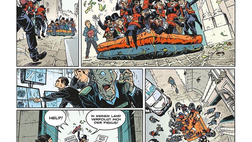 """Comic """"Die Alten Knacker"""": Der Greis ist heiß"""