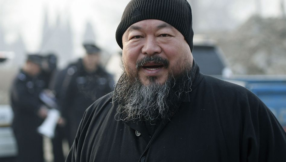 """Chinese artist Ai Weiwei: """"Very excited"""" about the support."""
