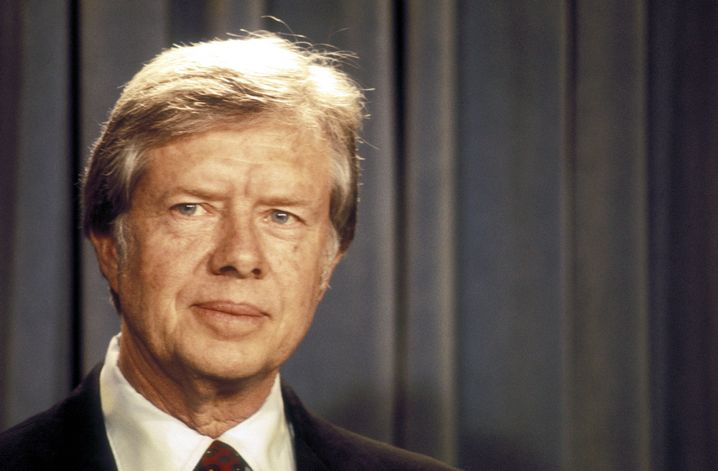 Jimmy Carter (im Juli 1978)