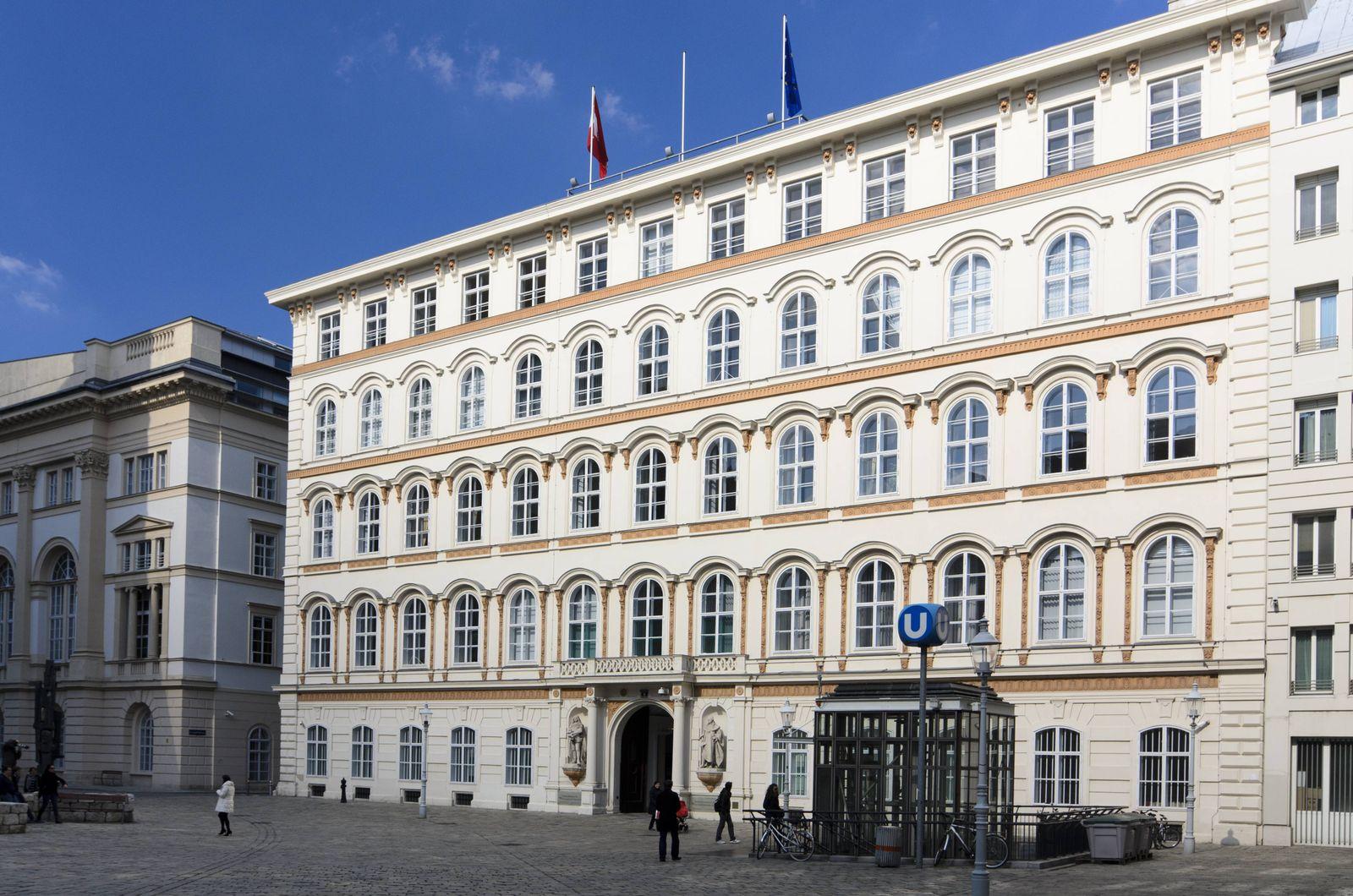 EINMALIGE VERWENDUNG Österreich/ Außenministerium