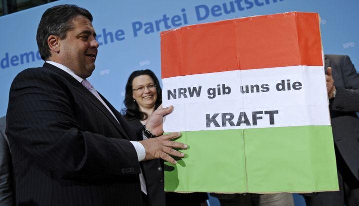 "Gabriel, Nahles: ""Trendwende geschafft"""