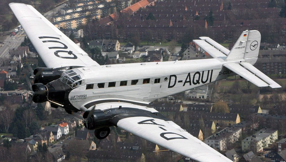"""""""Tante Ju"""" von Lufthansa: Ein Flugzeug als Denkmal"""