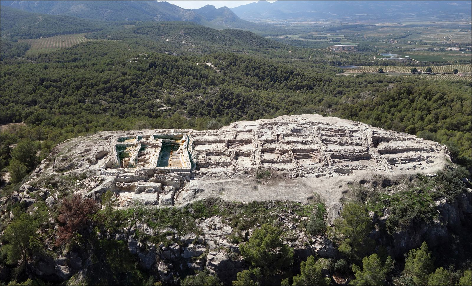 Argaric Bronze Age at La Almoloya, Murcia
