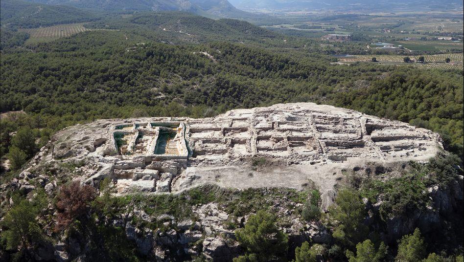 Ausgrabungsstätte La Almoloya in Spanien