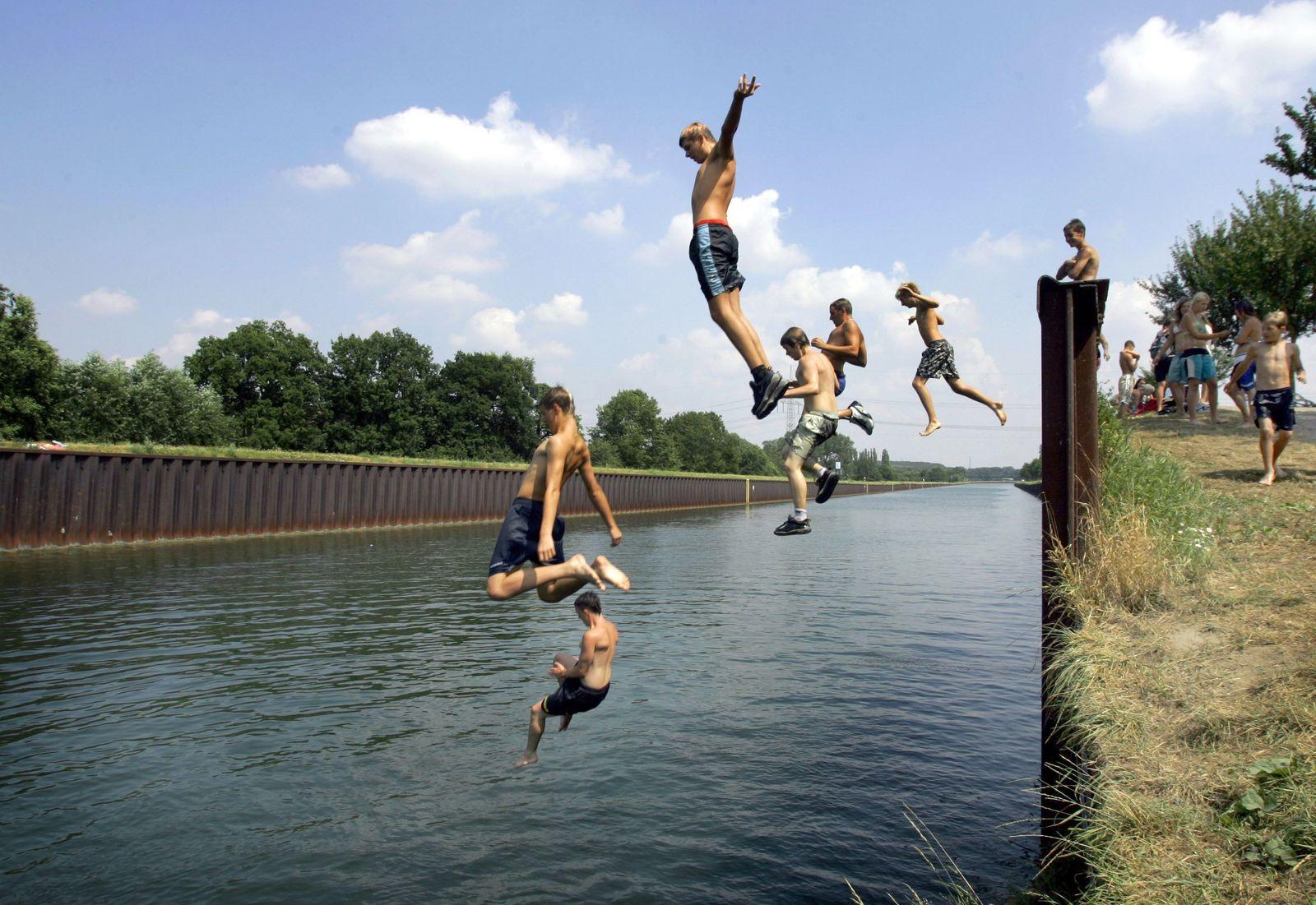Dortmund-Ems-Kanal Jugendliche