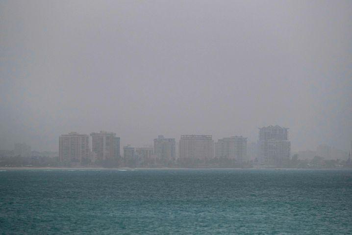 San Juan: Die Sichtweite am Flughafen lag beii unter acht Kilometern