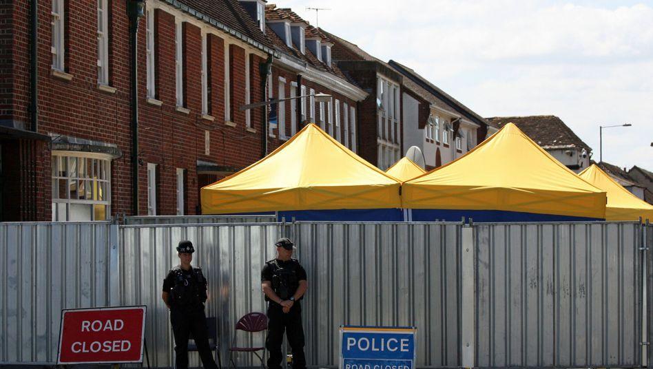 Ermittlungen in Amesbury