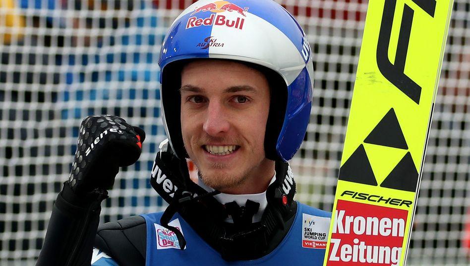 Gregor Schlierenzauer konnte zweimal die Vierschanzentournee gewinnen