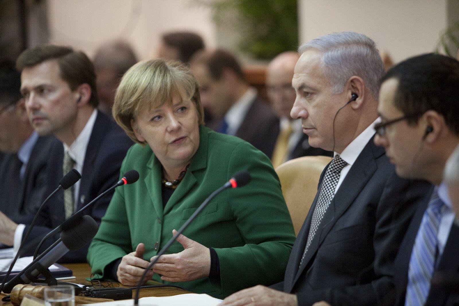 Merkel Israel Reise