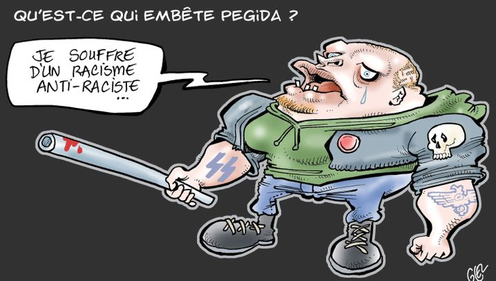 Photo Gallery: French Caricaturists Take On Pegida