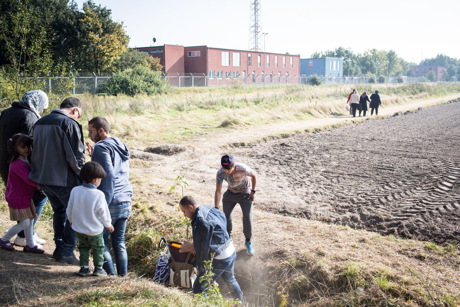 EINMALIGE VERWENDUNG Lüchow / Flüchtlinge