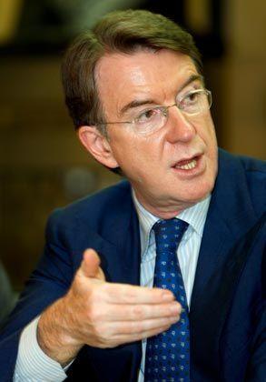 """Wirtschaftsminister Mandelson: """"Schaffung einer starken europäischen Basis"""""""